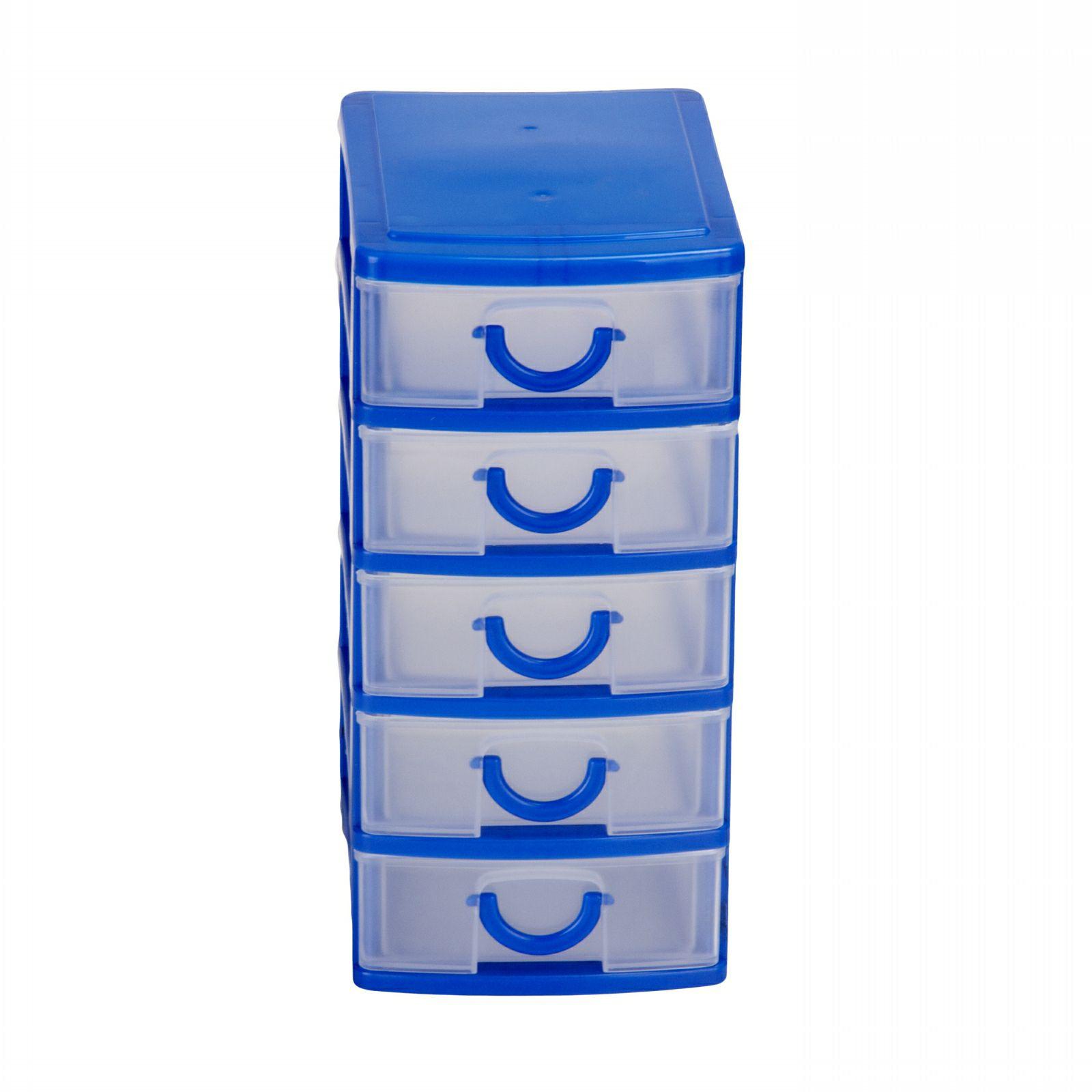 Mini Cassettiera Fai Da Te mini cassettiera da scrivania 5 cassetti 19x13x9cm
