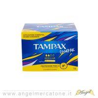 Tampax Compak con Applicatore per flussi leggeri/medi - 16pz-3023100003013