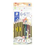 Set di 12 matite Staedtler Noris per scrivere e colorare-4007817033708