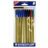 Penne a sfera Staedtler Noris stick 10 penne-4007817434208