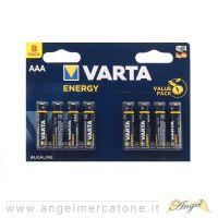 Batterie Mini-stilo AAA Varta1.5V  8pz-4008496626533
