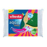 Spugna da cucina abrasiva antibatterica Vileda Aqua-4023103178526