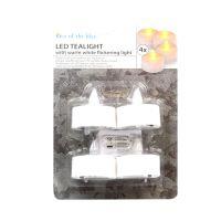 Portalumini con led Bianco 4pz.-4029811406210