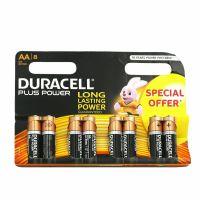 Batterie alcaline AA stilo 1.5V 8 pezzi Duracell-5000394017795