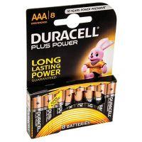 Batterie alcaline AAA stilo 1.5V 8 pezzi Duracell-5000394018549