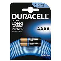 Batterie alcaline AAAA Micro stilo Duracell-5000394041660