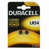 Batteria a bottone LR54 alcalina Duracell-5000394052550