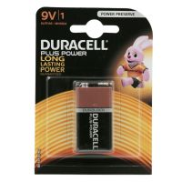 Batteria da 9V Duracell Plus Power-5000394105485