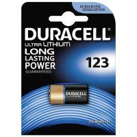 Batteria 123 CR123A al litio Duracell Ultra Lithium Photo-5000394123106