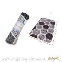 Tappeto da Bagno Esagoni Geometrici - 45x75cm-636946740573