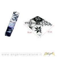 Tappeto da Bagno in Flanella Forme Geometriche - 45x50cm-636946741150