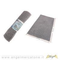 Tappeto da Bagno in Ciniglia Grigio - 45x75cm-636946741402