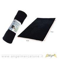 Tappeto da Bagno in Ciniglia Nero - 45x75cm-636946741419
