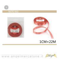 Nastro di raso Rosso 1cmx22mt-6968258677396