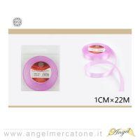 Nastro di raso Rosa 1cmx22mt-6968258681201