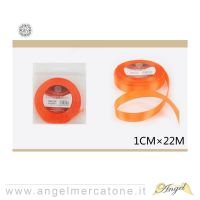 Nastro di raso Arancio 1cmx22mt-6968258681232