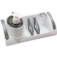 Organizer lavello cucina con dispenser e scomparti-8000061044014