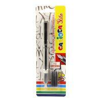 Penna Stilografica Stilo con 2 cartucce standard, inchiostro Blu-8003511423032