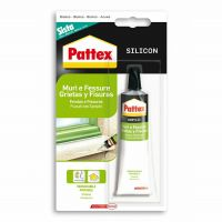 Sigillante acrilico bianco Pattex muri fessure 50ml-8004630893706