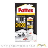 Pattex Millechiodi blister 40 gr trasparente -8004630915996