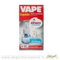 Vape Ricarica Liquida Inodore 60 Notti - 36ml-8006320088126