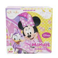Bolle di sapone Minnie Bubbles con tappo gioco 60ml-8007315538008