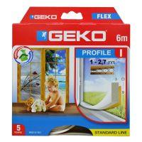 Parafreddo adesivo PVC porte e finestre bianco 6m profilo 9x3mm-8014846300066