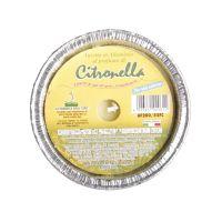 Vasetto citronella base alluminio Ø8.5xh4.5cm-8026871020611