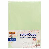Carta a4 per fotocopie colorata risma 100 fogli 80g verde-8033593016594