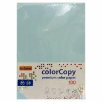 Carta a4 per fotocopie colorata risma 100 fogli 80g Azzurro-8033593016600