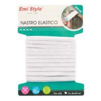 Nastro elastico bianco 3mmx6mt-8056046331204